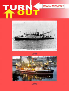 Cover of Turnout Magazine depicting an FDNY fireboat
